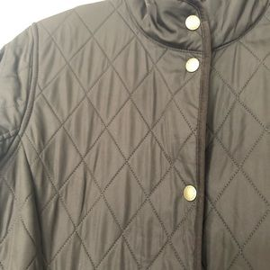 BARBOUR Green Quilted Jacket Barely Worn